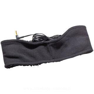 Headband with earphones