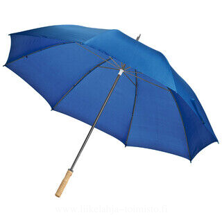Large umbrella with wooden handle