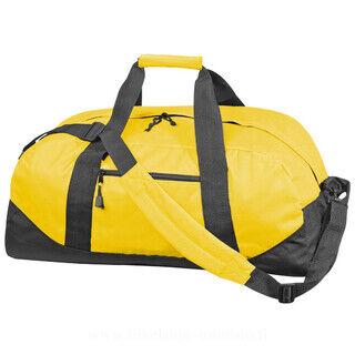 Polyester sports or travel bag