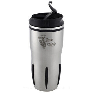 Leakproof insulated travel mug