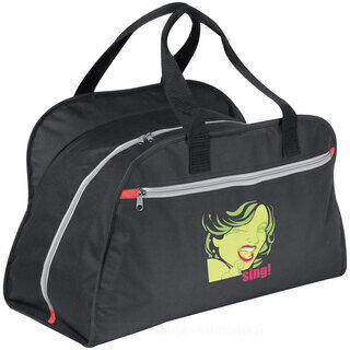 Polyester sports bag