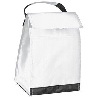 210D polyester cooler bag with carrying strap