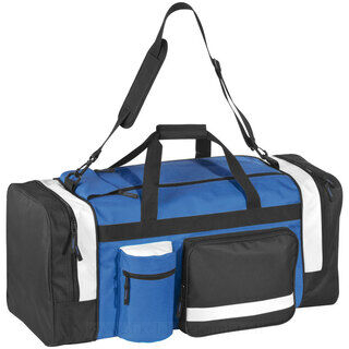Big sports and travel bag with many compartments