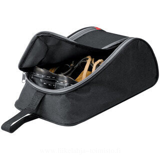 600D polyester shoe bag with metal holes for a perfect aeration