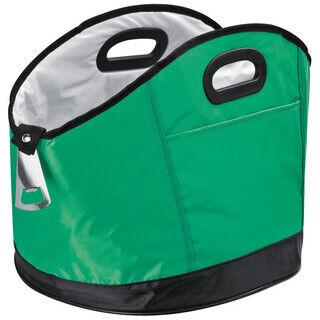 Big round cooler bag with bottle opener