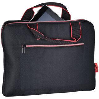 Laptop bag with carrying straps