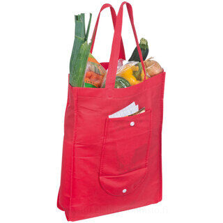 Foldable non-woven shopping bag