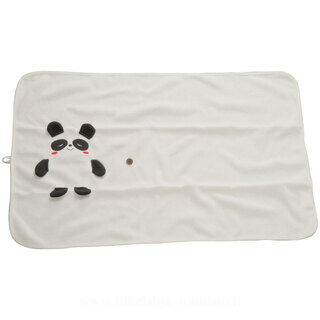 Blanket for kids with panda bear motif 2. picture