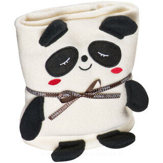Blanket for kids with panda bear motif