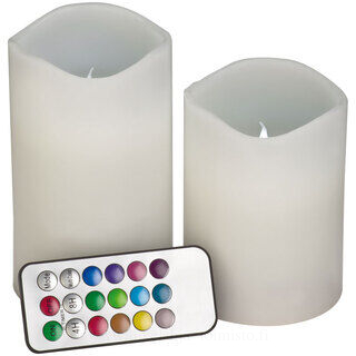 2pcs set colour changing candles