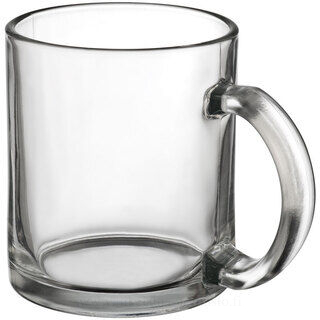 Coffee mug made of glass