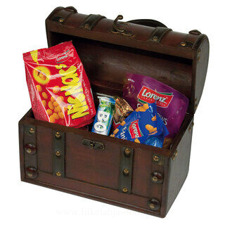 Mini wooden treasure chest