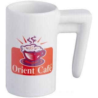 Slim espresso cup, round shape