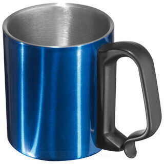 18/8 stainless steel mug with handle