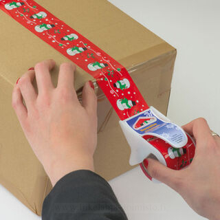 Adhesive ribbon in dispenser 2. picture