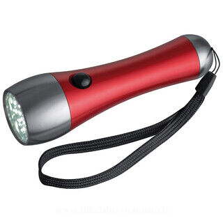 Metal torch with 21 LEDs