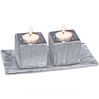 2-pc candleholder set
