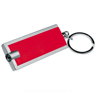 Key ring with white LED