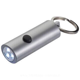 Key chain 3-fold LED lamp, oval