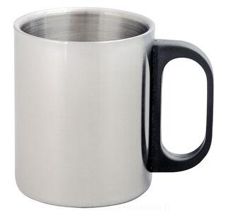 double metal mug