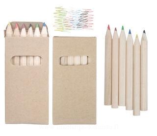 set of 6 pencils