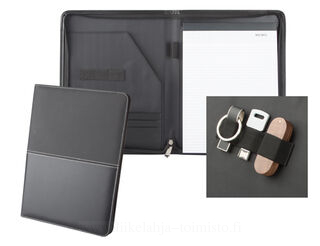 A4 zipped document folder
