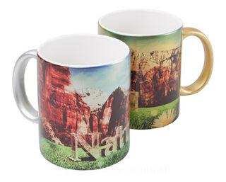 metallic sublimation mug
