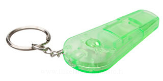 keyring with whistle 4. picture