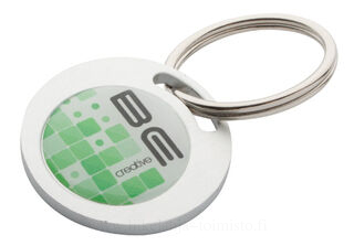 round shaped keyring