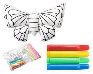 3d painting toy; butterfly