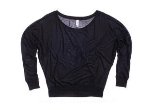 Flowy LS Off Shoulder T-Shirt