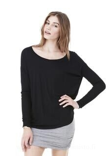 Flowy T-Shirt with 2x1 Sleeves