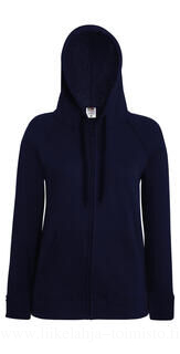 Lady-Fit Lightweight Hooded Sweat Jacket