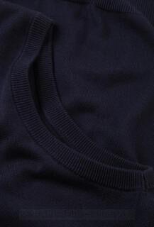 Mens V-Neck Sleeveless Knitted Pullover 8. kuva