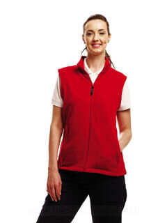 Ladies` Mirco Fleece Bodywarmer