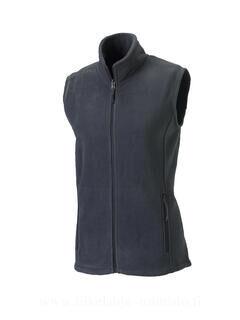 Ladies` Gilet Outdoor Fleece