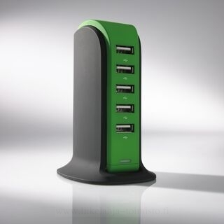 LAADIMISJAAM POWER TOWER, 5 USB 18. kuva