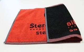 Towel with woven logo 3. picture